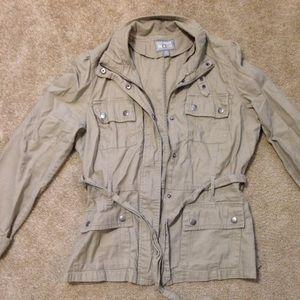 Tan cargo jacket